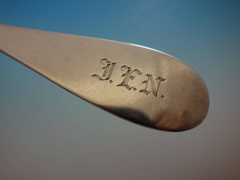 Yerba Buena by Vanderslice Sterling Silver Flatware Set 41 Pcs California Silver For Sale 2