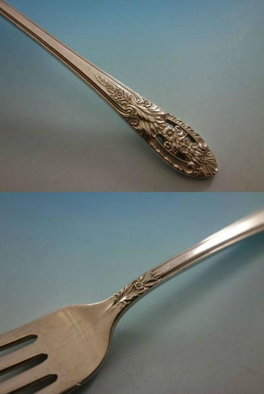 International Fine Arts Processional Lemon Fork Sterling Silver Flatware