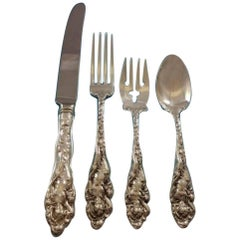 Love Disarmed by Reed & Barton Sterling Silver Flatware Set Service 32 Pc Dinner