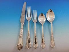 La Regence by Carrs UK Sterling Silver Flatware Set 12 Service 67 pieces Dinner