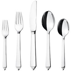 Pyramid by Georg Jensen Stainless Steel Flatware Set for 12 Service 63 Pcs