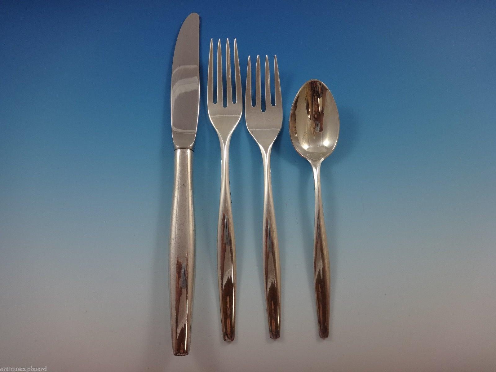 Sterling Flatware Kirk Signet Salad Fork