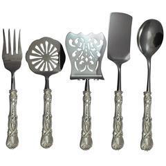 Saint James by Tiffany & Co. Sterling Silver Brunch Serving Set, Five Pieces