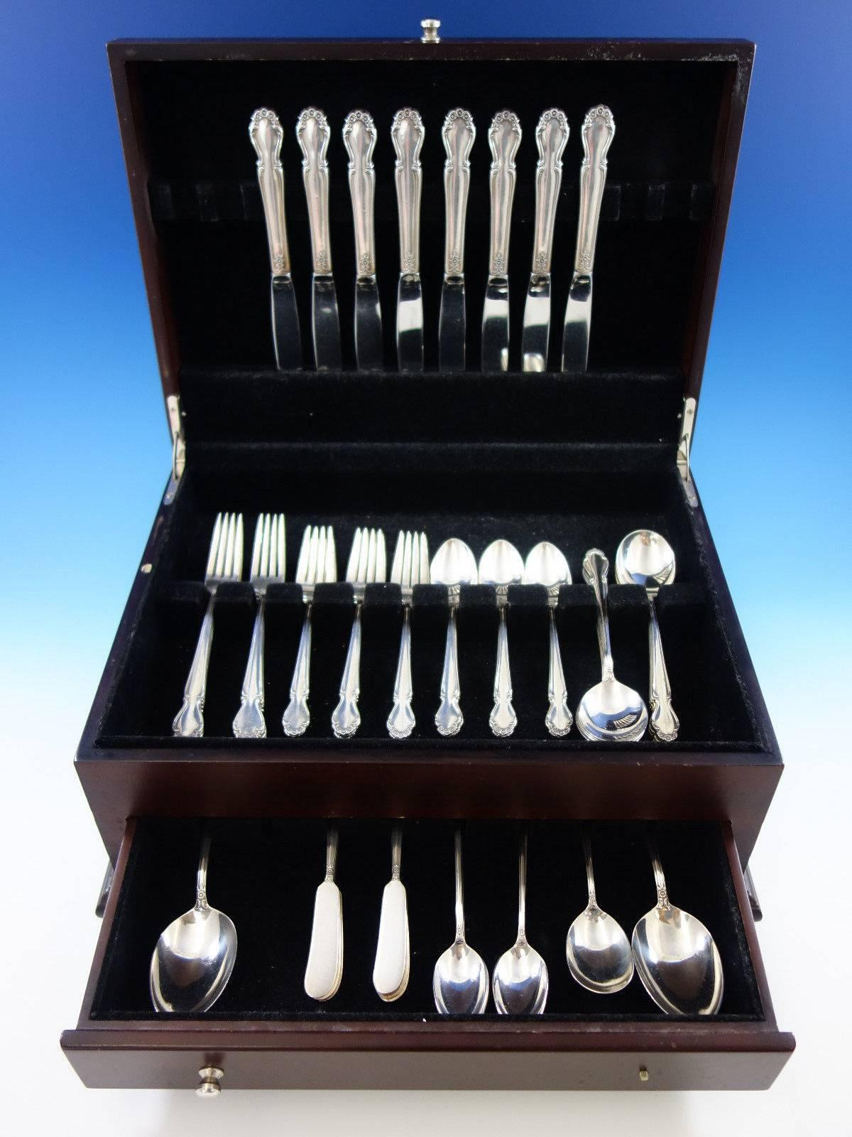 1810-INTERNATIONAL STERLING SALAD FORK S