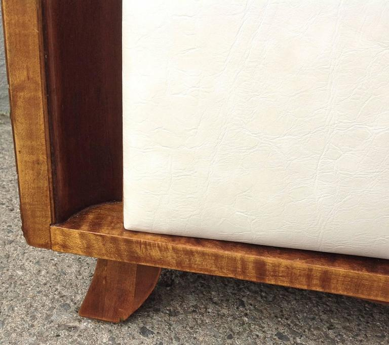 Three-Drawer Mahogany Chest Gilbert Rohde for Herman Miller For Sale 1