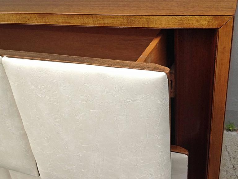 Three-Drawer Mahogany Chest Gilbert Rohde for Herman Miller For Sale 2
