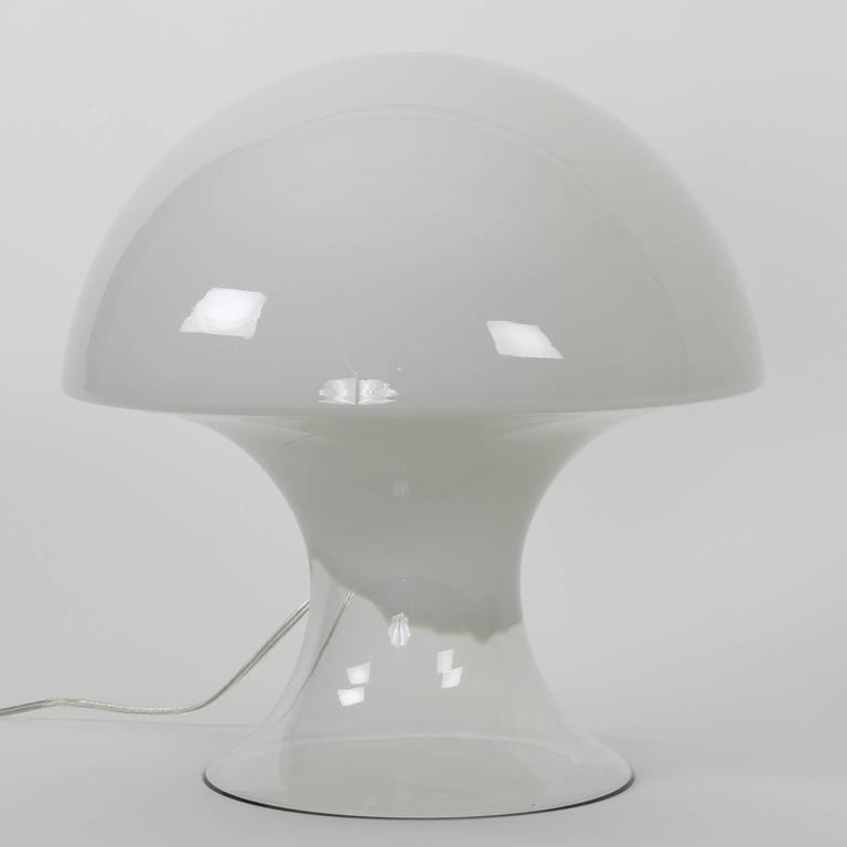 Gino vistosi mushroom shaped murano glass table lamp circa 1960s italian gino vistosi mushroom shaped murano glass table lamp circa 1960s for sale aloadofball Image collections
