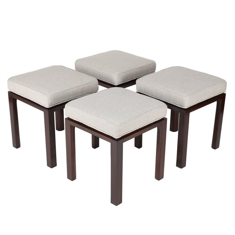 Two Harvey Probber Stools   Four Available, Circa 1960s For Sale Awesome Design