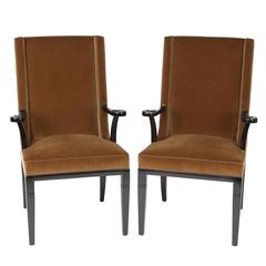 Pair of Armchairs by Tommi Parzinger for Charak Modern, circa 1940s