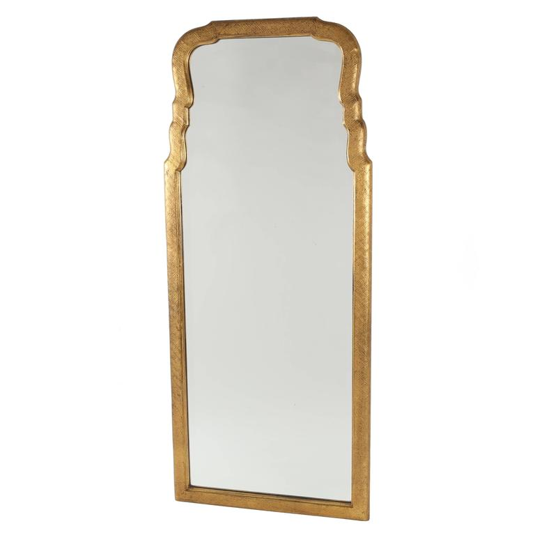 Friedman Brothers Tall Gilt Mirror, circa 1960s