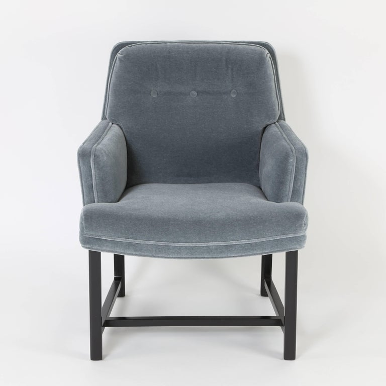 Pair of Edward Wormley for Dunbar Armchairs, circa 1960s In Excellent Condition For Sale In Brooklyn, NY