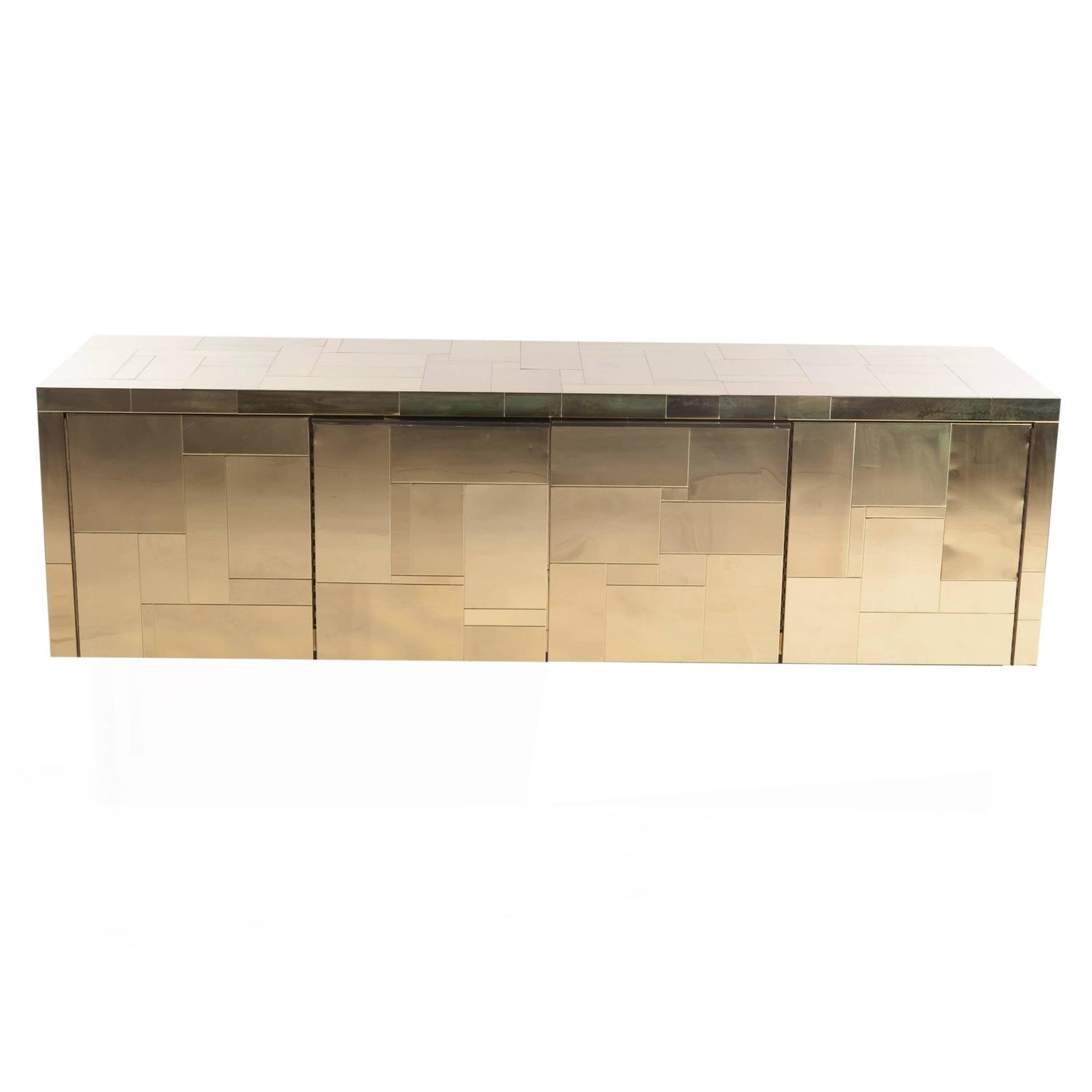 #966F35 Paul Evans Brass Cityscape Wall Mounted Cabinet At 1stdibs with 1500x1500 px of Most Effective Wall Mounted Open Shelf Cabinet 15001500 wallpaper @ avoidforclosure.info