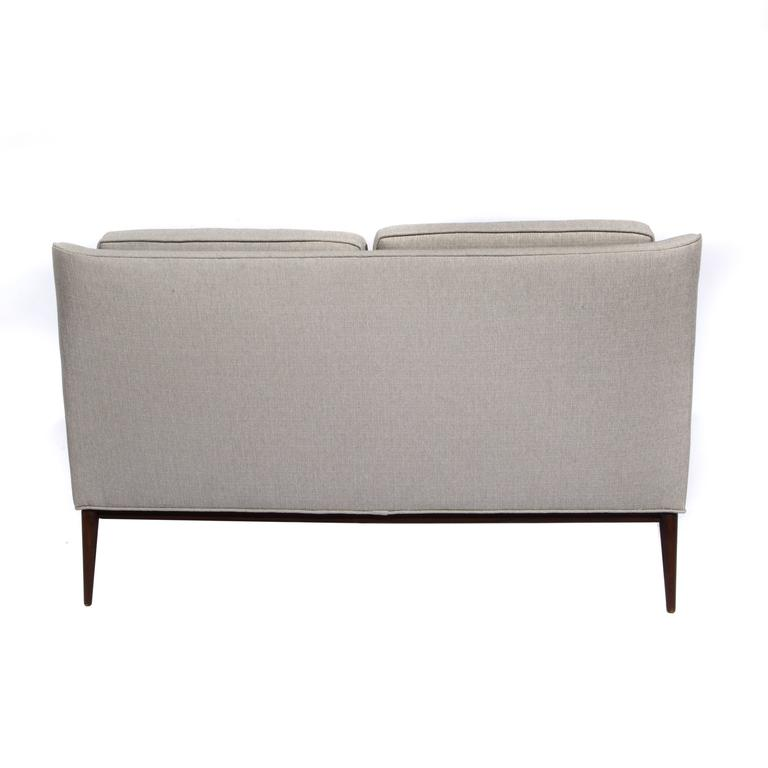 Mid-20th Century Paul McCobb for Directional Loveseat, Circa 1950s For Sale
