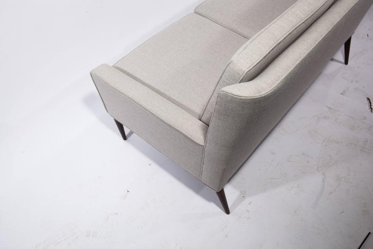 Upholstery Paul McCobb for Directional Loveseat, Circa 1950s For Sale