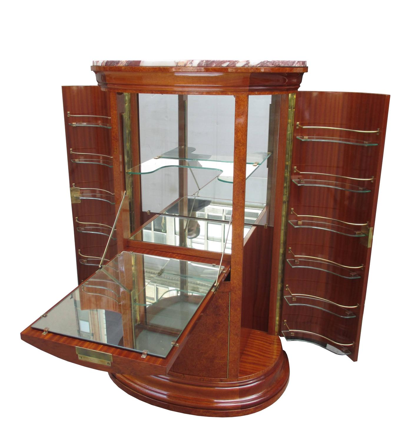 Fine Art Deco Bar Cabinet For Sale At 1stdibs