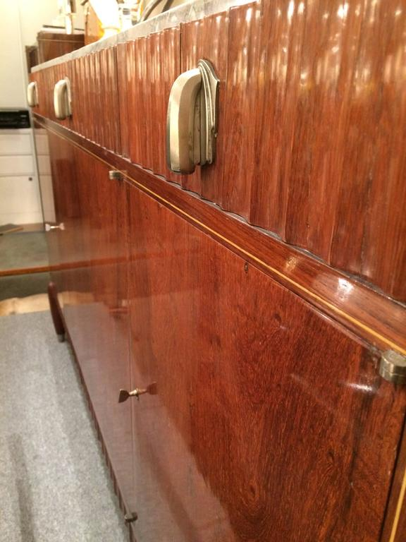French Fine Art Deco Sideboard by Mercier Frères For Sale