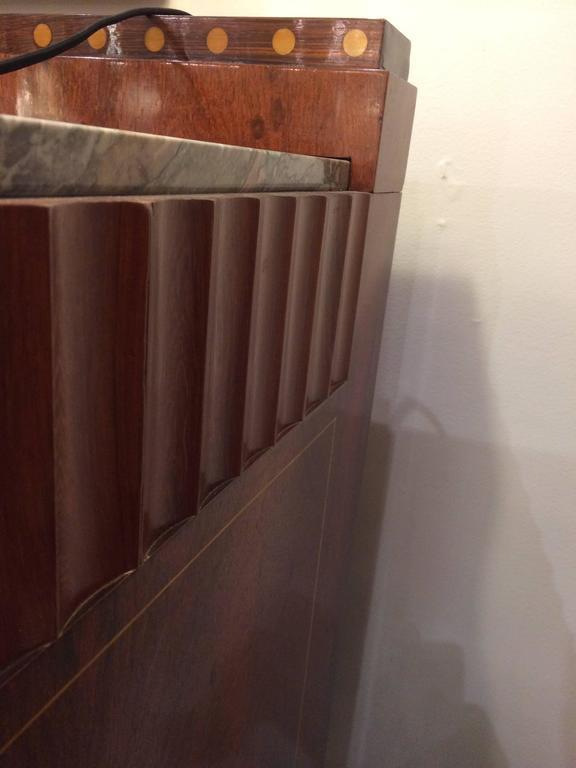 Inlay Fine Art Deco Sideboard by Mercier Frères For Sale