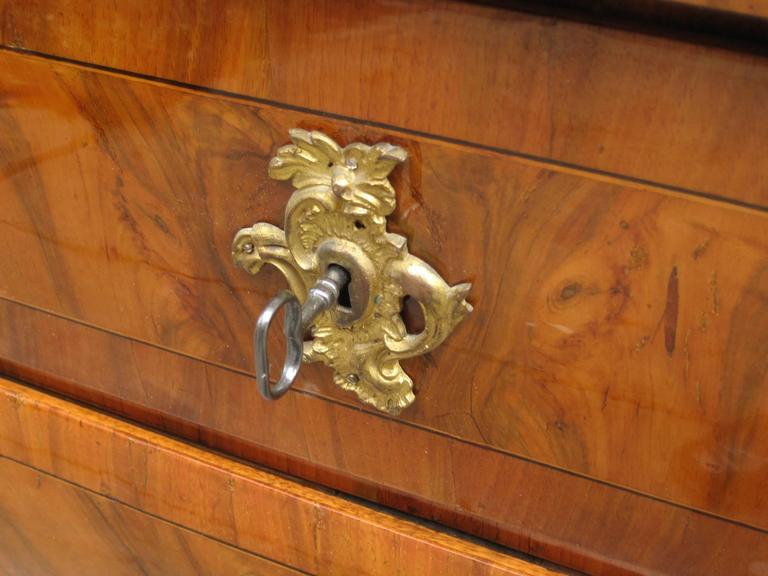 Fine Rococo Three-Drawer Chest In Excellent Condition For Sale In New York, NY