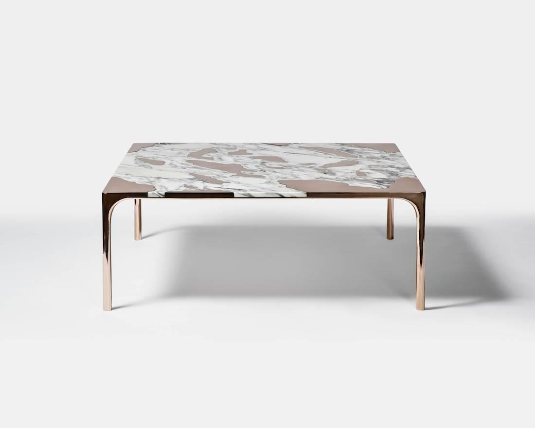 Gt2p marble vs bronze coffee table 2015 for sale at 1stdibs Bronze coffee tables