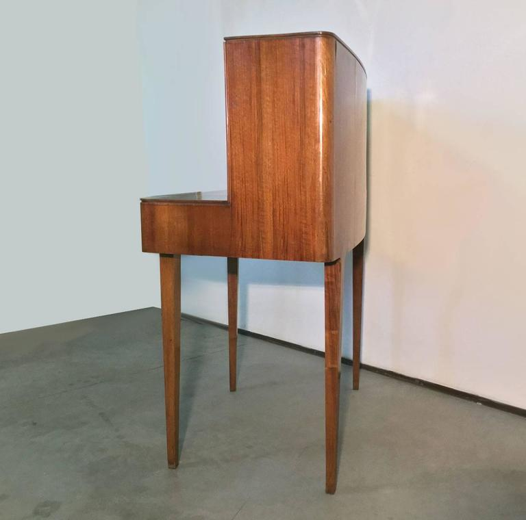 Beautiful Curved Desk Attributed To Guglielmo Ulrich 1940