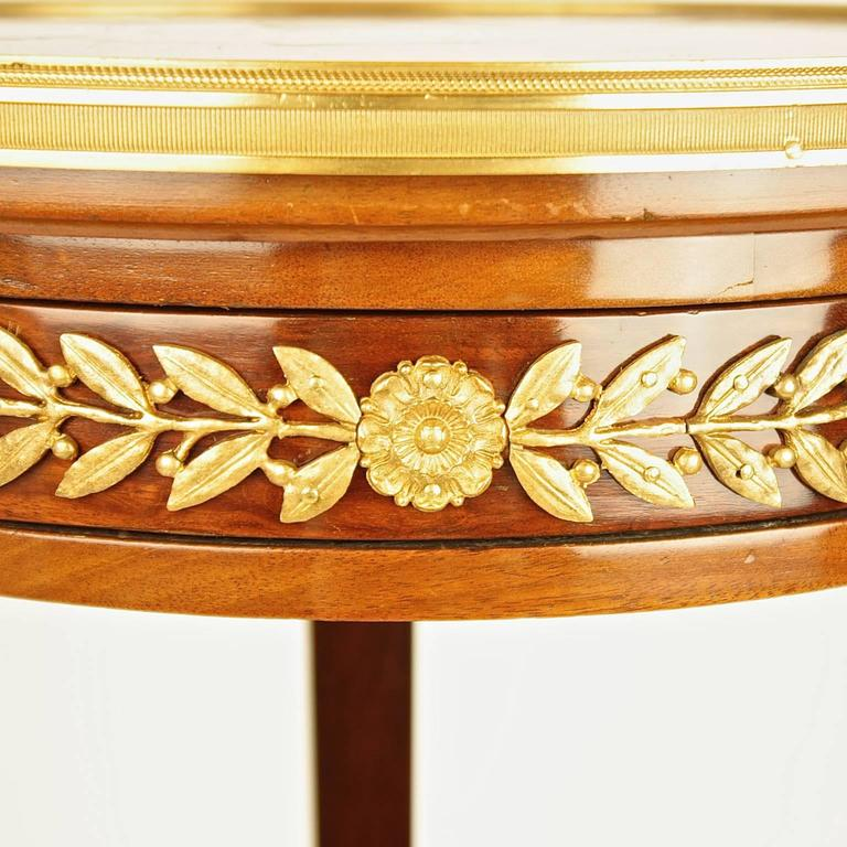 This antique french cherry side table is no longer available - Pair Of 19th Century Louis Xvi Style Gilt Bronze Mounted