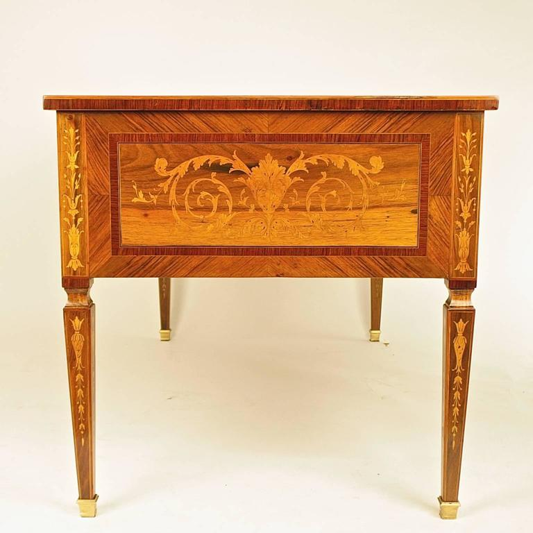 Italian louis xvi style bureau plat in the manner of g for Bureau louis xvi
