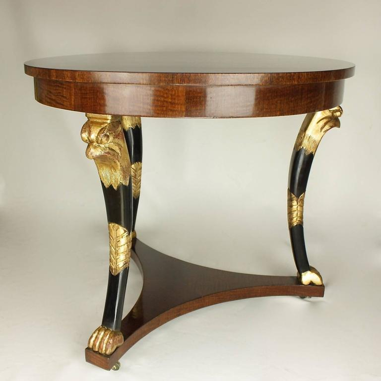 French Late 19th Century Empire Style Centre Table For Sale