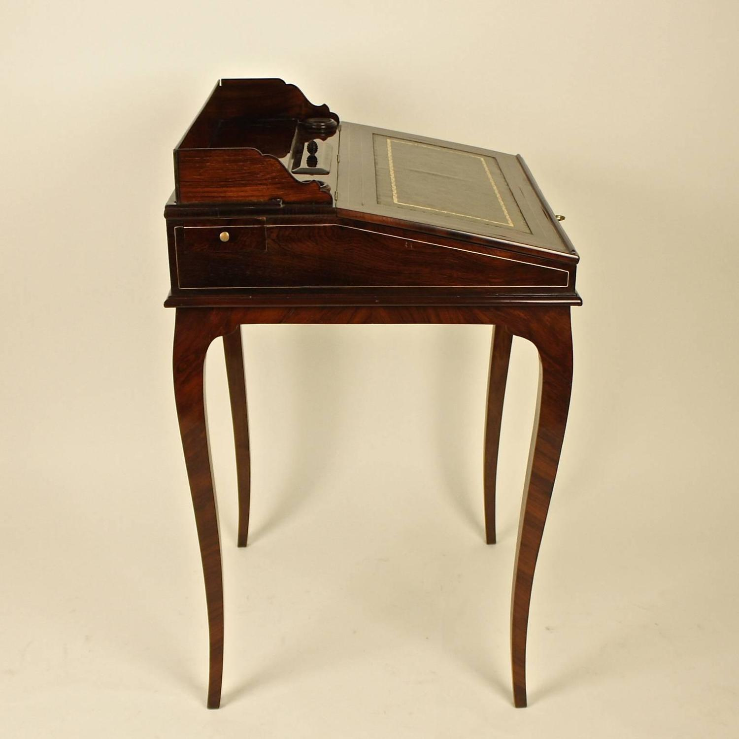 #34180B Small 19th Century Mahogany Bonheur De Jour Or Ladie's Desk For Sale  with 1500x1500 px of Recommended Small Ladies Writing Desk 15001500 save image @ avoidforclosure.info