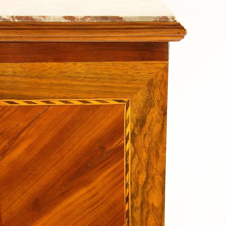 Late 18th Century Louis XVI Side Table or 'Table Chiffonière' For Sale 2