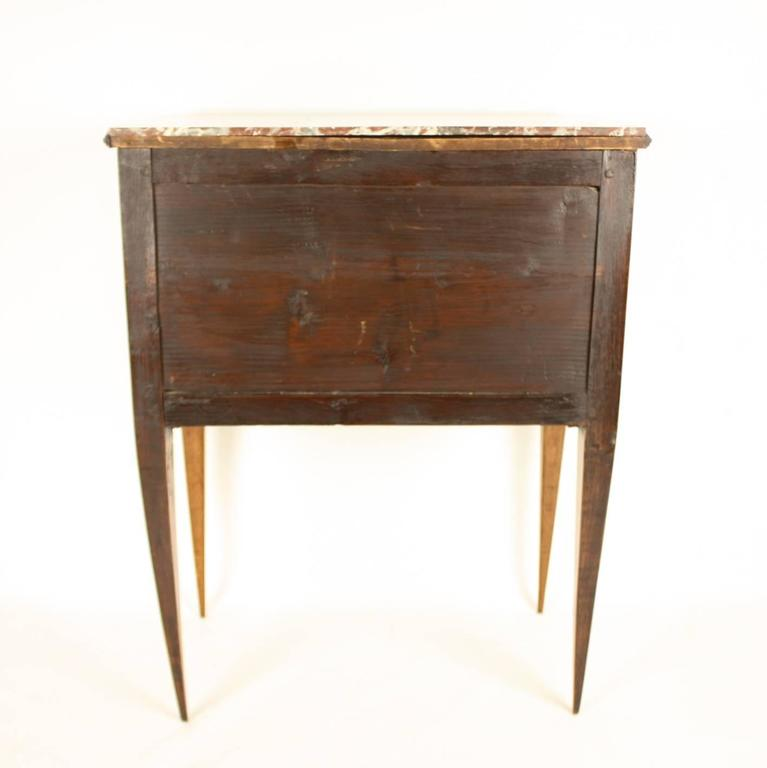 Late 18th Century Louis XVI Side Table or 'Table Chiffonière' 10