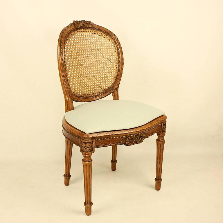 A Set Of Six Louis XVI Dining Chairs In The Manner Of Georges Jacob (1739