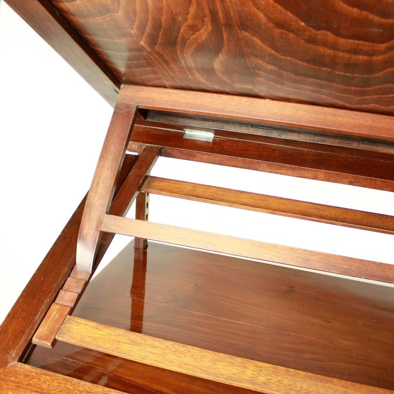 Directoire Mahogany Architect's Table 'Table à Tronchin' For Sale 2