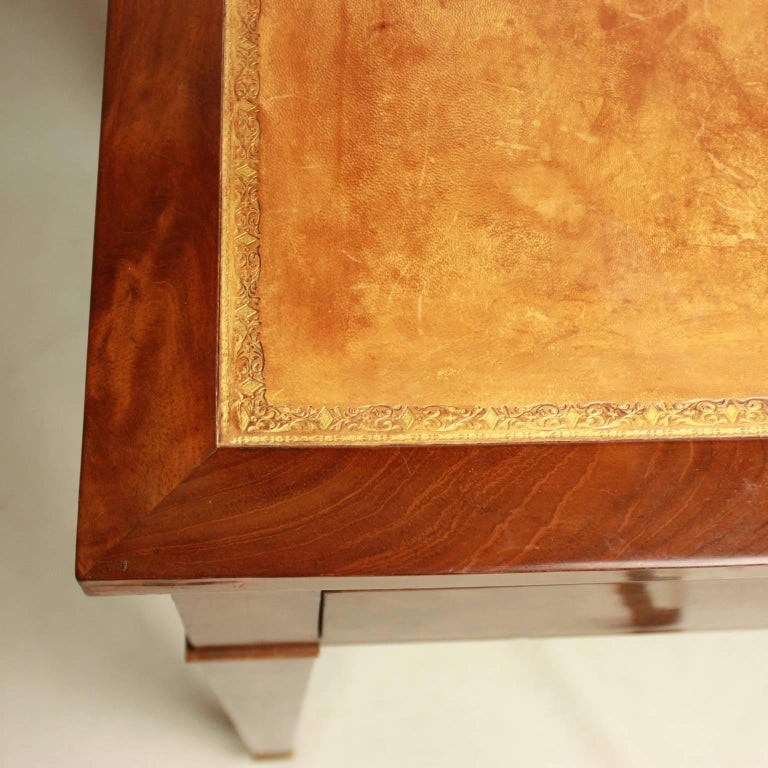 Directoire Mahogany Architect's Table 'Table à Tronchin' For Sale 3