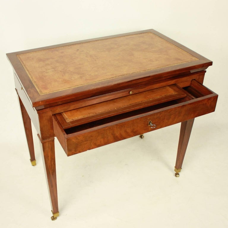 Directoire Mahogany Architect's Table 'Table à Tronchin' For Sale 4