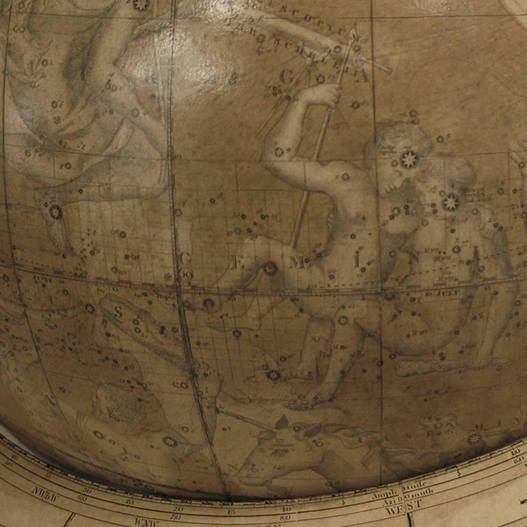 Pair of Library Globes by Smith & Son 3
