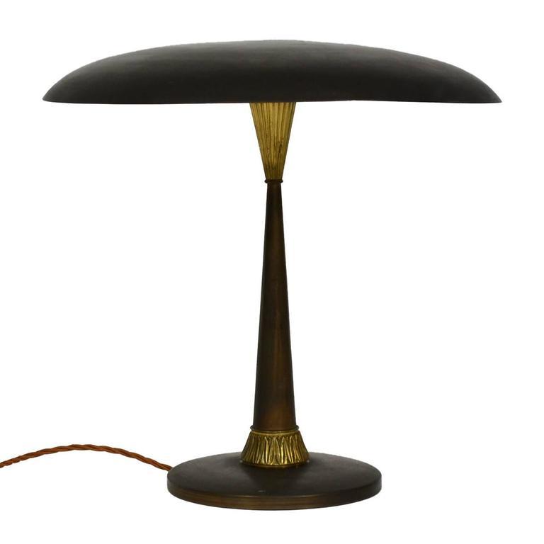 Italian brass desk lamp at 1stdibs for Chair table lamp yonge st