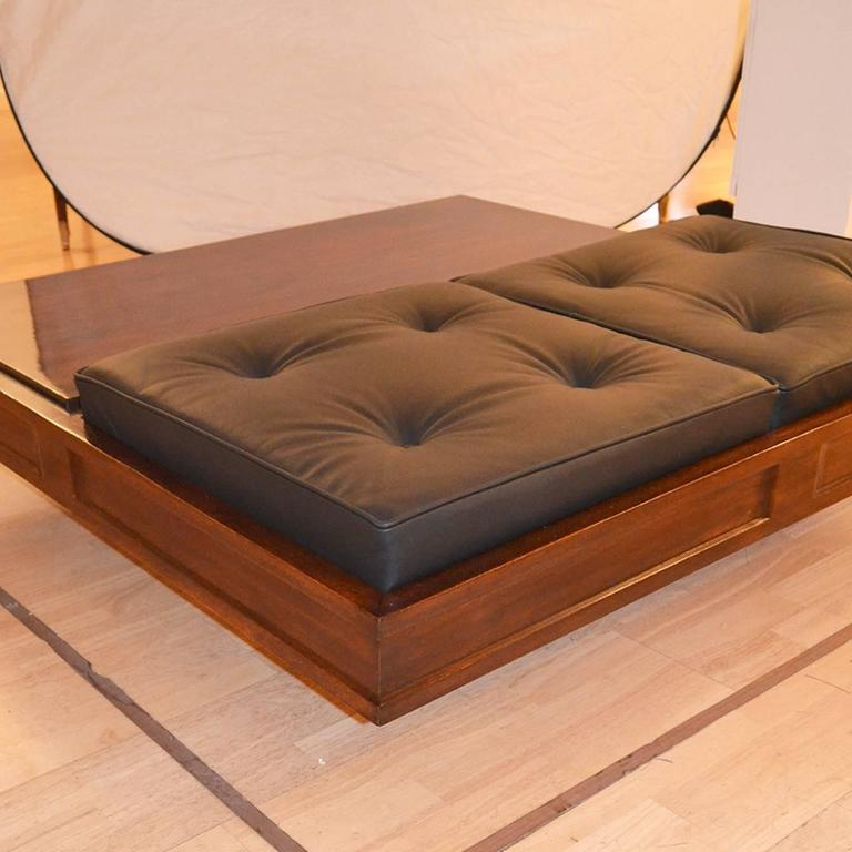 Fantastic Very Rare Coffee Table With Two Seats For Sale At 1stdibs