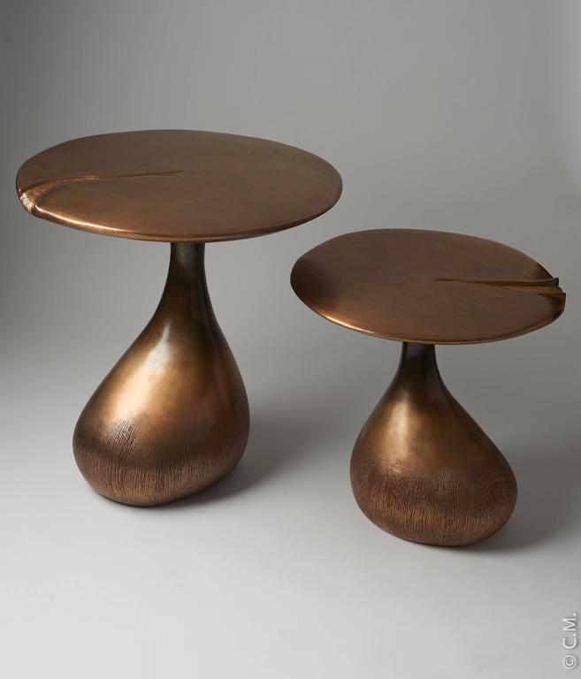Bronze patinated