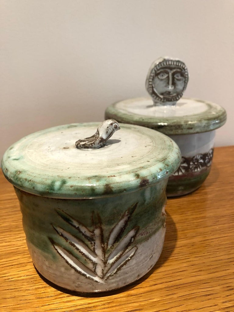 Albert Thiry Ceramic Set Vallauris, 1950 For Sale 1