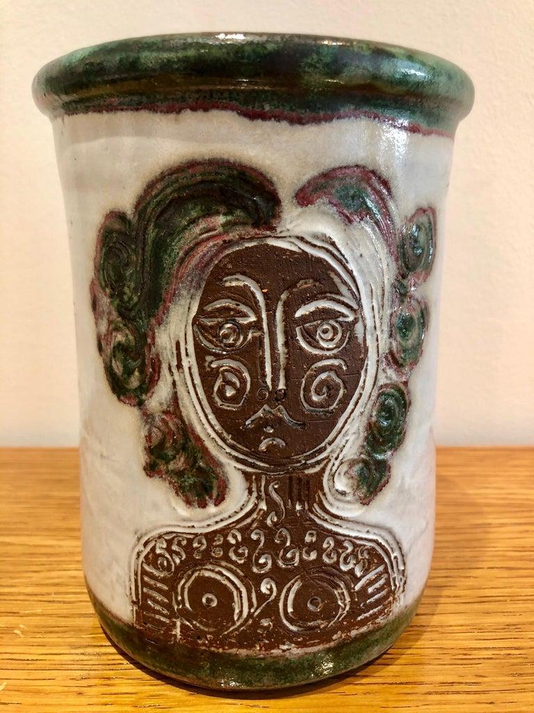 Albert Thiry Ceramic Set Vallauris, 1950 In Good Condition For Sale In Paris, FR