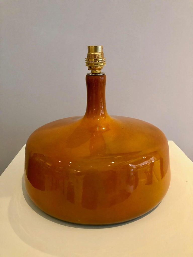 Ceramic Table Lamp by Jacques et Dani Ruelland, 1960s For Sale 1