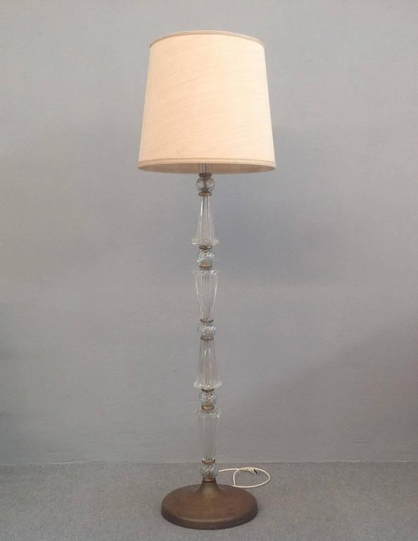Awesome Floor Lamp Attributed To Barovier For Sale At 1stdibs