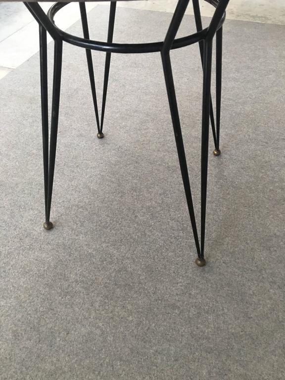 Glamorous Table by Decalage, Signed In Excellent Condition For Sale In Carpaneto Piacentino, Italy