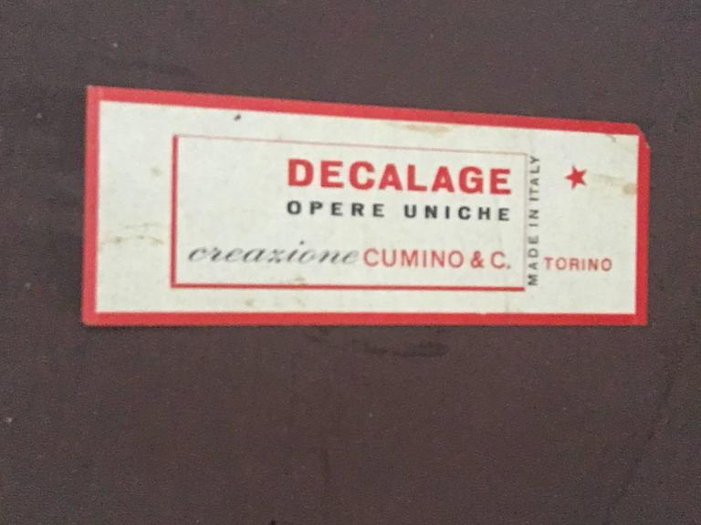 Glamorous Table by Decalage, Signed 7