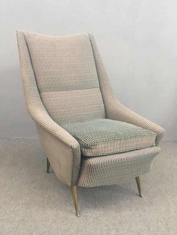 Charming isa armchair for sale at 1stdibs for Isa arredamenti