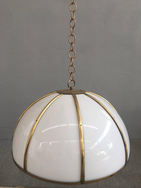 Mid-Century Modern Gabriella Crespi Pendant For Sale