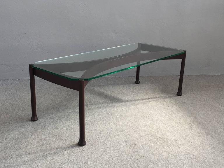 Italian Stunning Coffee Table Attributed to Fontana Arte For Sale