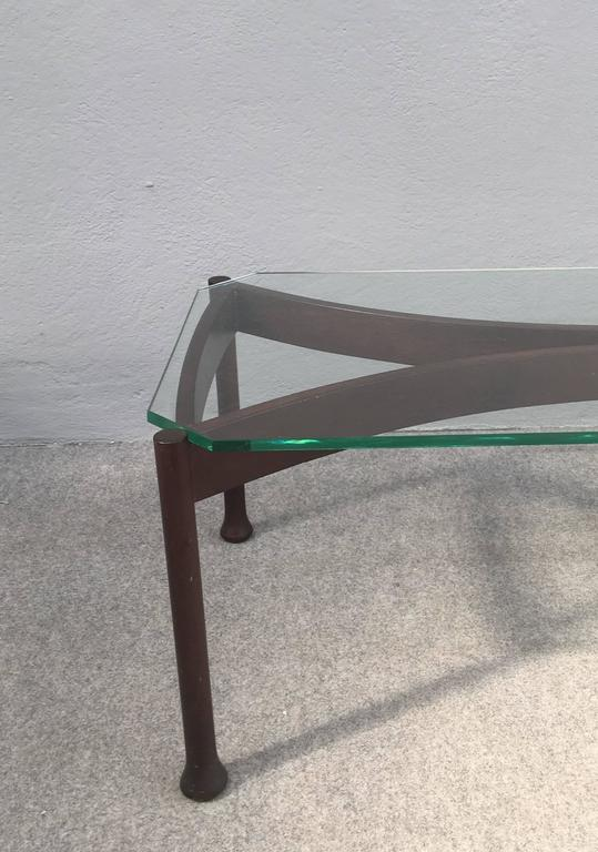Mid-20th Century Stunning Coffee Table Attributed to Fontana Arte For Sale