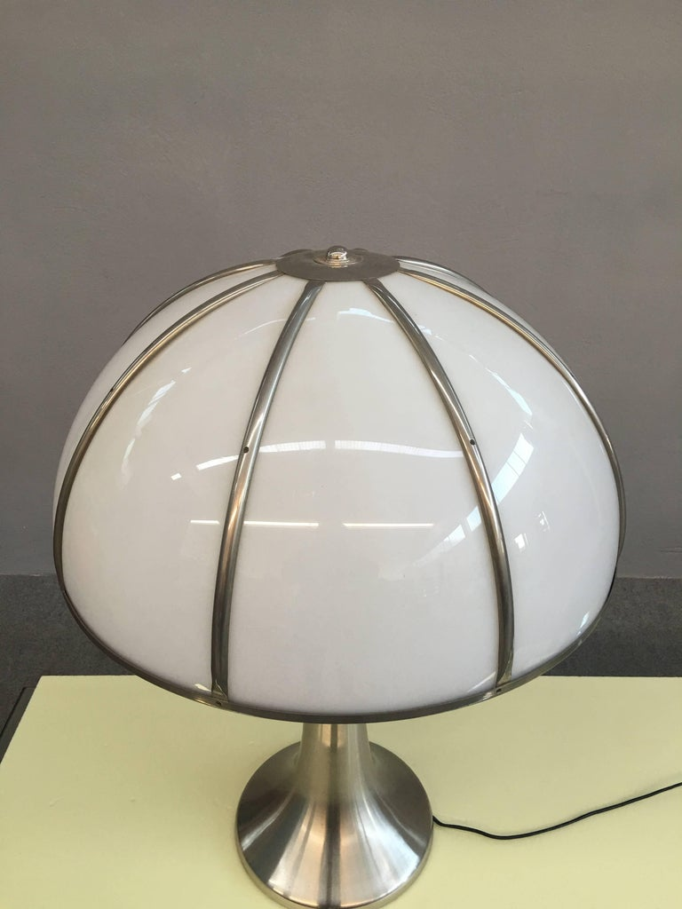 Late 20th Century Charming Table Lamp by Gabriella Crespi For Sale