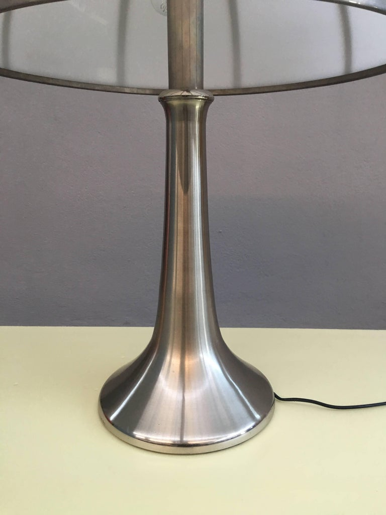 Charming Table Lamp by Gabriella Crespi In Excellent Condition For Sale In Carpaneto Piacentino, Italy